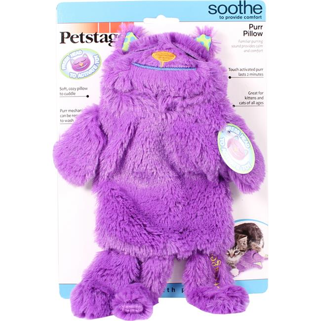 Petstages 066749 Purr Pillow For Cats - Purple