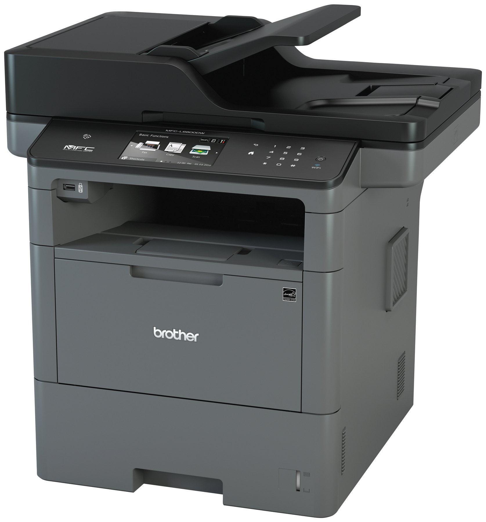 Brother Mfc-l6800dw Laser Multifunction Printer Monochrome Plain Paper Print Desktop Copier fax printer scanner 48 Ppm... by Brother