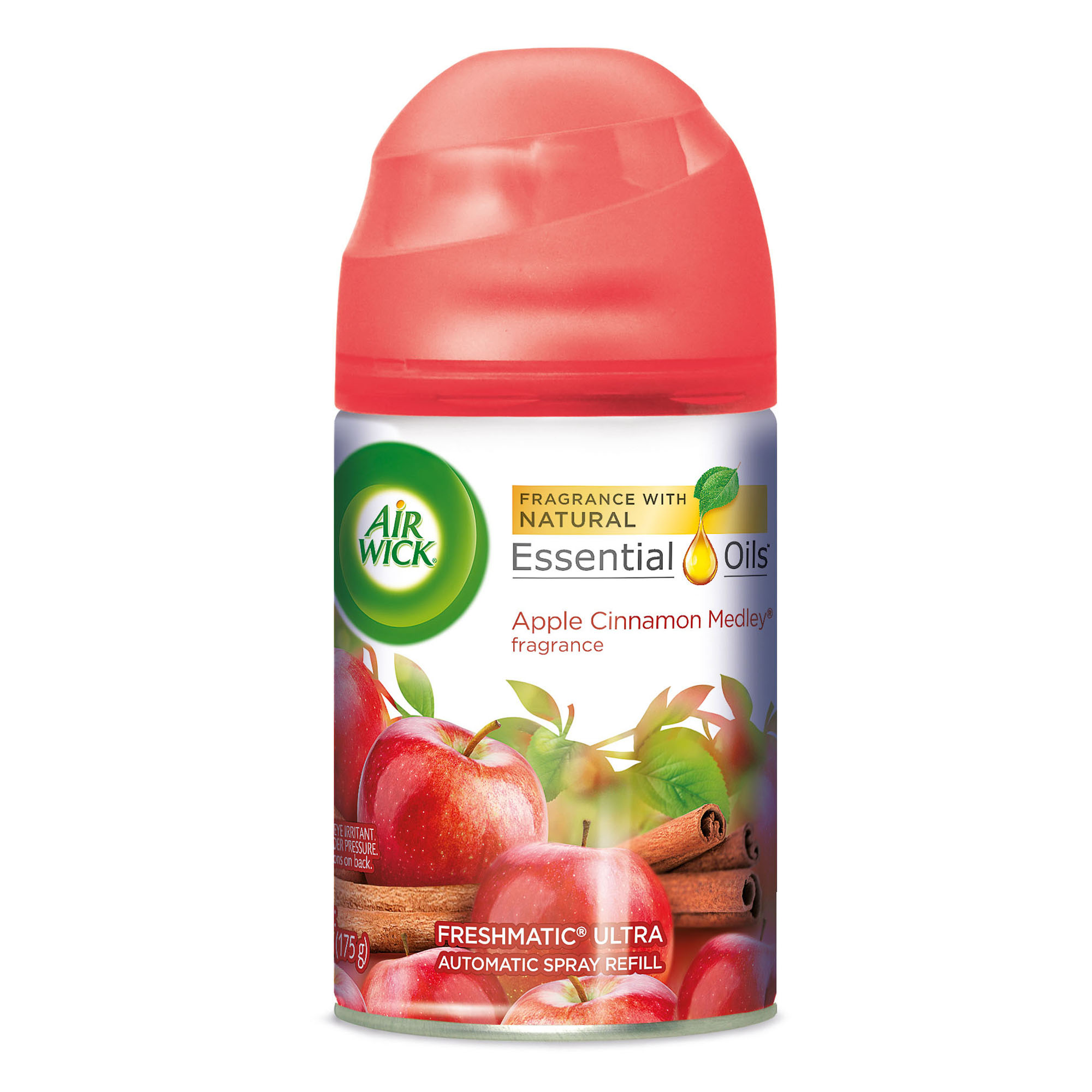 Air Wick Freshmatic Refill Automatic Spray, Apple Cinnamon Medley, 6.17oz, Air Freshener