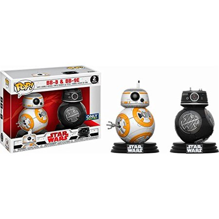 Funko - POP! Star Wars Last Jedi: BB-8 and BB9-E 2 Pack (Best Buy