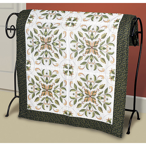 "Janlynn Antique Foliage Quilt Blocks Stamped Cross Stitch, 15"" x 15"", 6/pkg"
