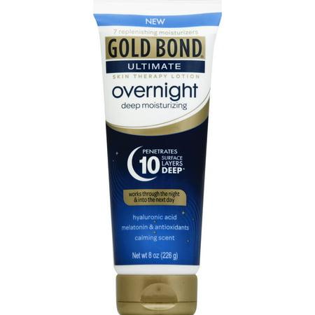 Fastest Overnight Shipping (GOLD BOND® Ultimate Overnight Deep Moisturizing Lotion)