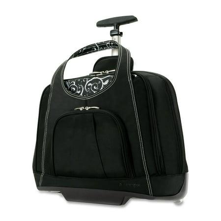 Kensington, KMW62533, Contour Balance Notebook Roller, 1, Onyx Contour Overnight Notebook Roller Case