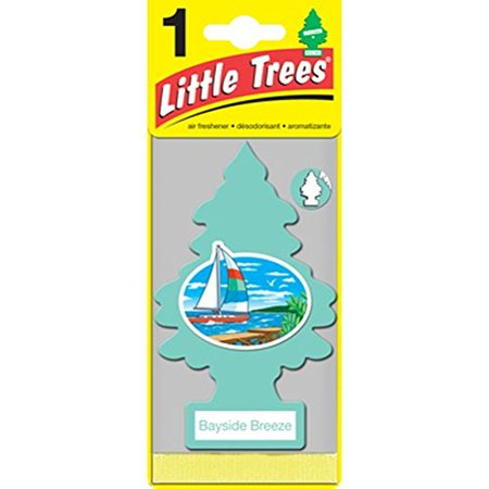Two Little Trees hanging type fragrance air fresheners Bayside Breeze input
