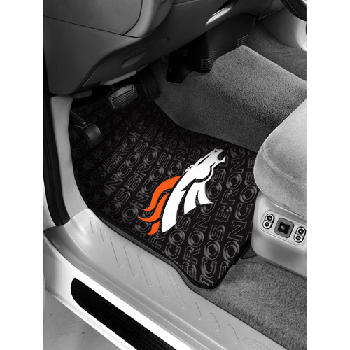 NFL - Denver Broncos Floor Mats - Set of 2