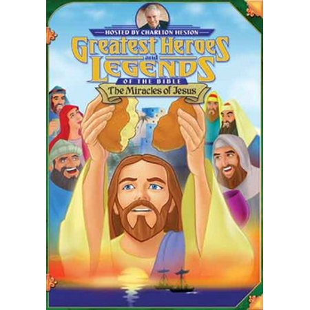 Greatest Heroes & Legends of the Bible: Miracles of Jesus (Legend Of The Legendary Heroes Full Episodes)