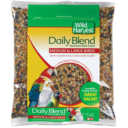 Universal Blend: Premium Medium & Large Birds Seeds, 3 Lb