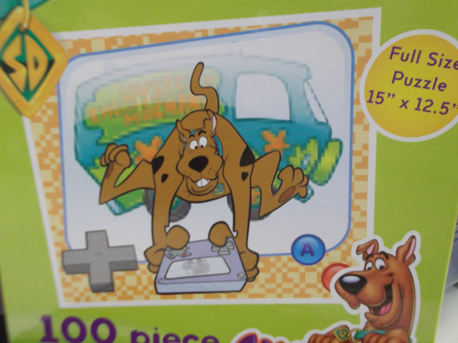Scooby-doo! 100 Piece Puzzle Scooby-doo Playing Video Game, 100 pieces. By Pressman Toy by