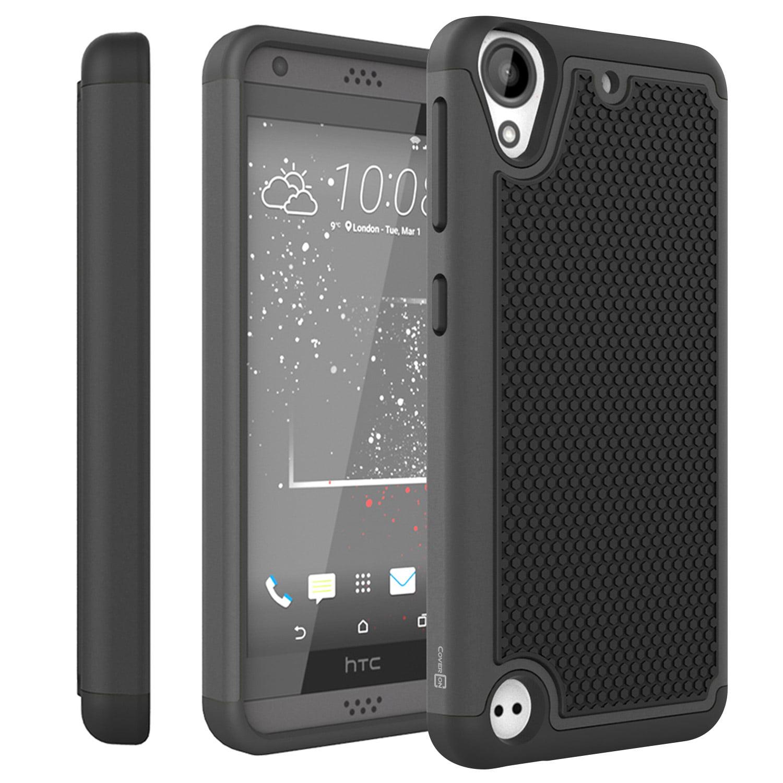 the latest f53bc 68746 CoverON HTC Desire 530 Case, HexaGuard Series Hard Phone Cover