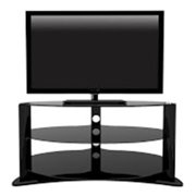 Trans World TWSTV-003002 47 in. Denver Entertainment TV Stand