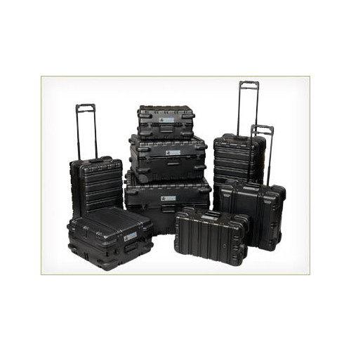 Chicago Case Company ATA Style Foam-Filled, Reusable Indestructo Shipping Case 18'' H x 15'' W x 11'' D