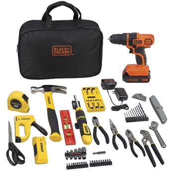 Stanley Black Decker 20-volt 79-Piece Home Project Kit