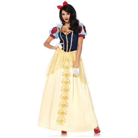 Leg Avenue Women's Deluxe Classic Snow White Halloween Costume - Avenue Halloween Costumes