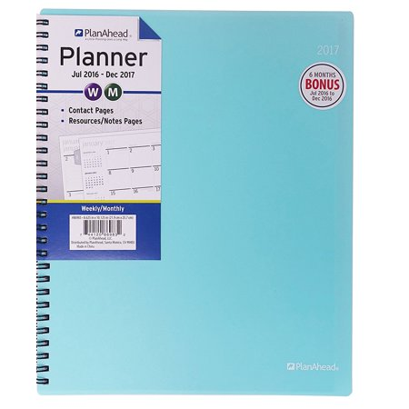 Home Office 18 Month Planner  July 2016   December 2017  8 6 X 10 125 Inches  Assorted Colors  Color May Vary  86983   4 Year Reference Calendar By Planahead