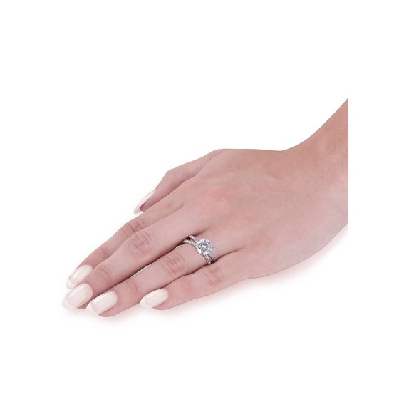 Engagement Rings No Stone: Solitaire Braided Lily Engagement Ring Setting