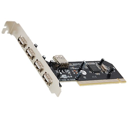 Buy Now PC Desktop Computer 4+1 Ports USB 2.0 PCI Card Lxnzd Before Special Offer Ends