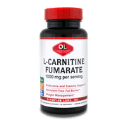 Olympian Labs L-Carnitine Fumarate 1000mg, 60 Ct