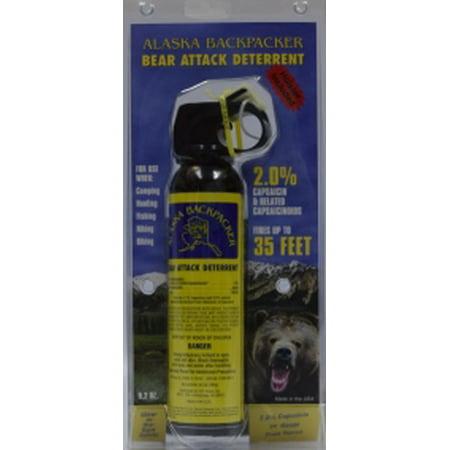 Image of Alaska Bear Spray Sabre Ak Backpcker W/hlr 9.2 Oz 92bh