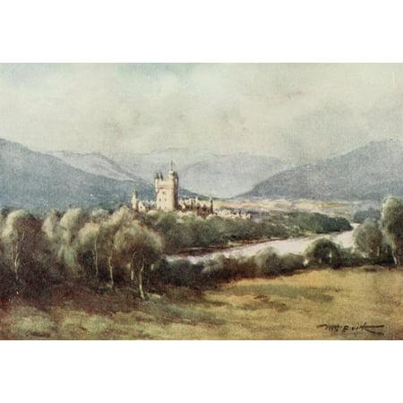 Scotland 1915 Balmoral Castle Canvas Art   William Smith  18 X 24