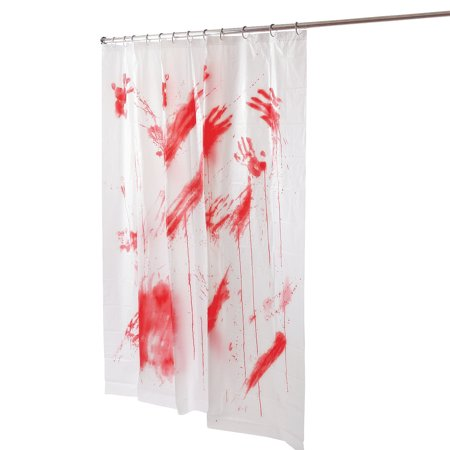 Fun Express - Bloody Shower Curtain for Halloween - Home Decor - Decorative Accessories - Home Accents - Halloween - 1 Piece](Gay Halloween Tumblr)