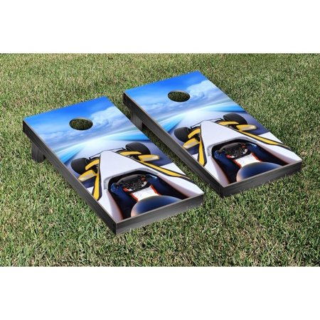 Victory Tailgate Formula 1 Race Car Cornhole Game Set