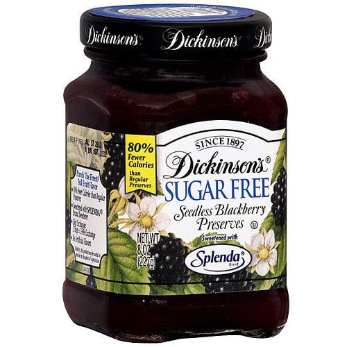 Dickinson's Seedless Blackberry Preserves, 8 oz (Pack of 6)