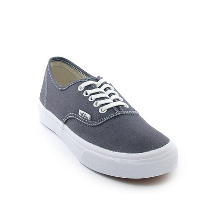Vans Unisex Authentic Slim Sneakers, Grey, 5 B(M) US Women / 3.5 D(M) US Men (Ash Slip On Sneaker)