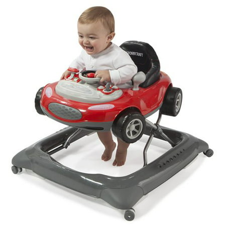 8e59557fd Storkcraft Mini-Speedster Activity Walker Red - Walmart.com