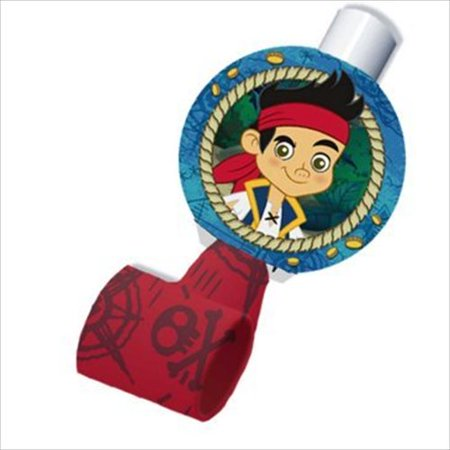 Jake And The Neverland Pirates Party Games (Disney Jake and the Never Land Pirates Blowouts (8) Party Accessory by)