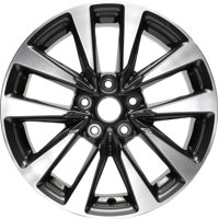 PartSynergy New Aluminum Alloy Wheel Rim 17 Inch Fits 2016-2018 Nissan Altima 17x7.5 5 on 114.3 - 4.5 Inches 10 Spoke