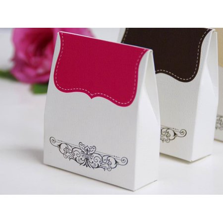 fe1fff529 BalsaCircle 100 Favors Boxes with Imprinted Tapestry Design - Wedding Party  Candy Gifts Decorations Supplies - Walmart.com