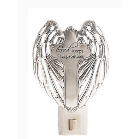 God Keeps His Promises - On the Wings of Angels Night Light by Ganz