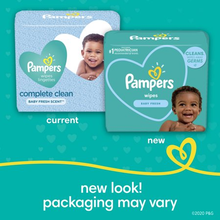 Pampers Baby Wipes, Baby Fresh Scent, 9X Pop-Top Packs, 720 Count