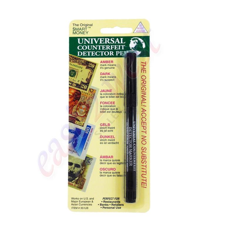 Dri Mark Smart Money UNIVERSAL Counterfeit Detector Marker Pen 351UB