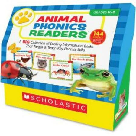 Scholastic Animal Phonics Readers Education Printed Book By Liza Charlesworth   English   Book  Shs 0545578140