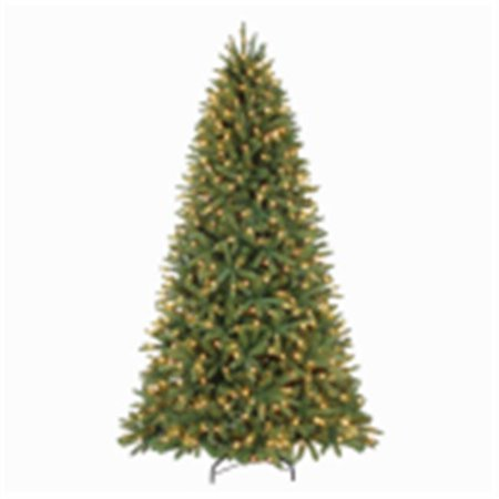 POLYGROUP LIMITED Artificial Pre-Lit Christmas Tree, Quick-Fold Woodland Fir, 750 Clear Lights, 7.5-Ft. TG76P4861C00](Thumbprint Wedding Tree)