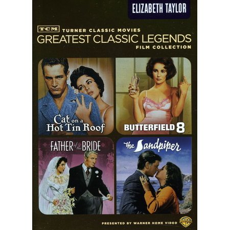 Tcm Greatest Classic Legends Film Collection  Elizabeth Taylor