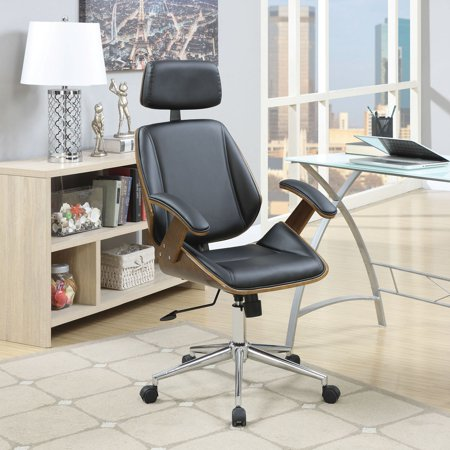coaster contemporary mid century modern office chair multiple colors. Black Bedroom Furniture Sets. Home Design Ideas