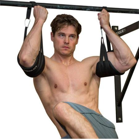 Ab-Crunch Sling AB Straps Weight Lifting Hanging Gym Chinning Bar B