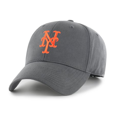 - Fan Favorite MLB Basic Adjustable Hat, New York Mets