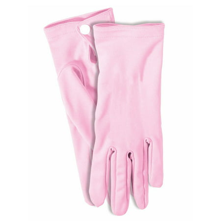 Pink Short Gloves Halloween Costume Accessory - Short Halloween Limericks