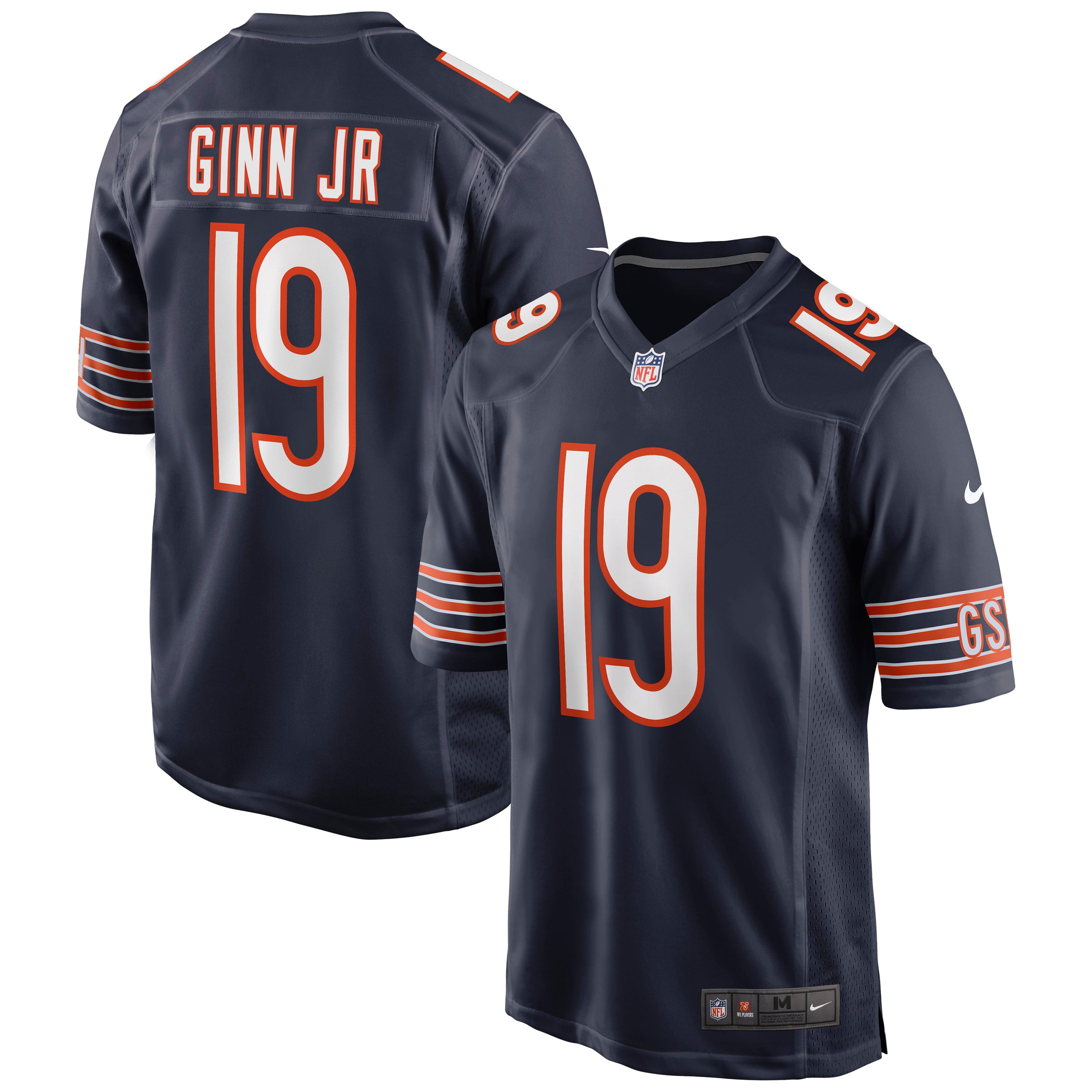 Ted Ginn Jr. Chicago Bears Nike Game Jersey - Navy - Walmart.com
