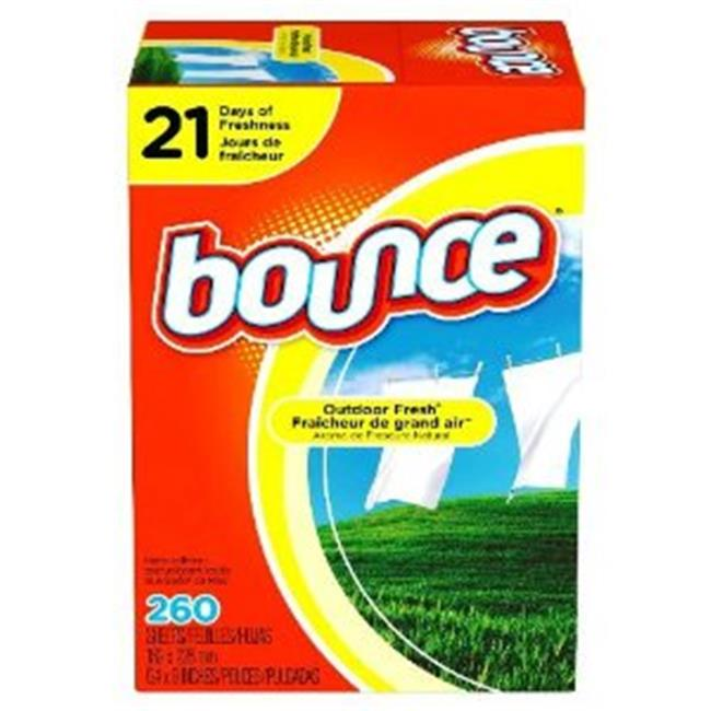 Bounce CW-323979-9 Bounce Dryer Sheets - 9 in Case