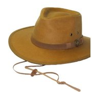 Outback Trading Hat Mens Tough Kodiak Oilskin Waterproof 1480