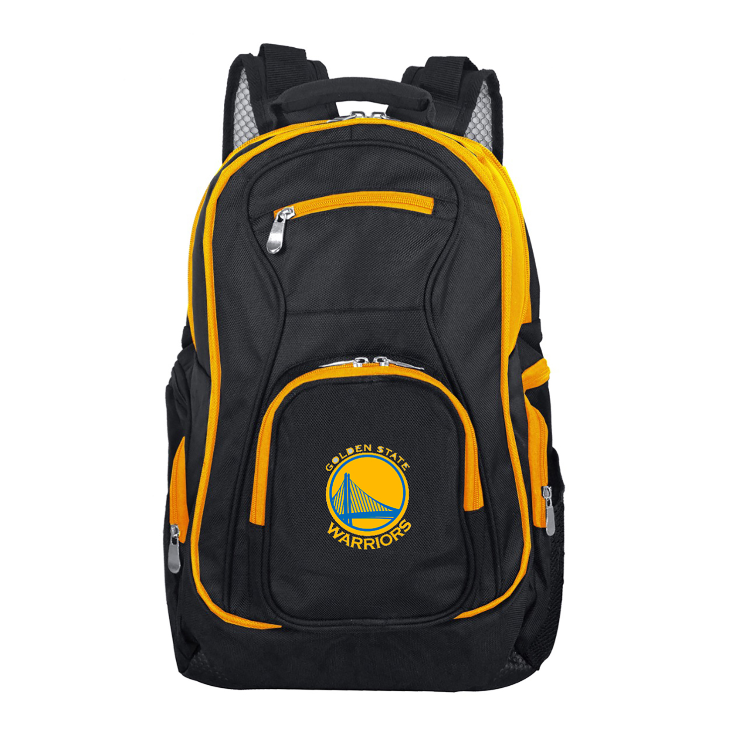 NBA Golden State Warriors Premium Laptop Backpack with Colored Trim