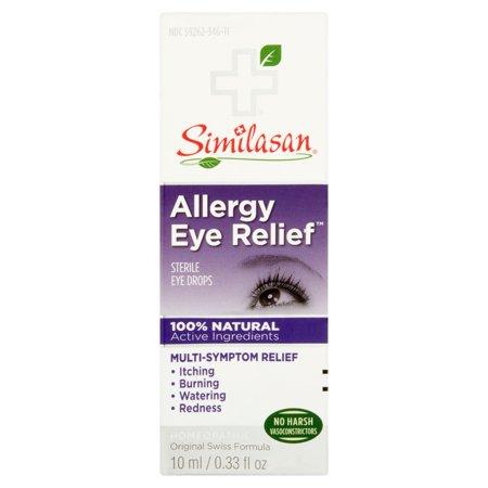 Similasan Soulagement des allergies des yeux stériles gouttes oculaires, 0,33 fl oz