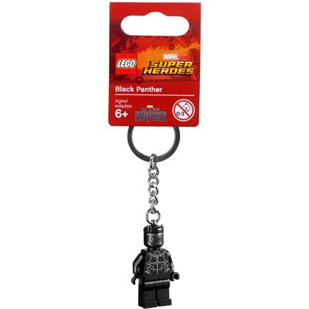 Lego Marvel Super Heroes Black Panther Keychain New with Tag - Superhero Keychains