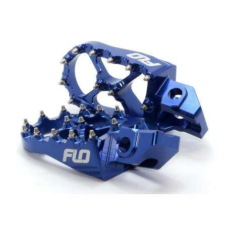 Flo Motorsports FPEG-795BLU Pro Series Foot Peg - Blue
