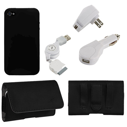 KTA iPhone 4/4S 5-in-1 Combo Bundle