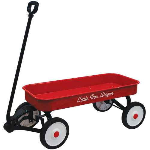 "Little Box 34"" Metal Wagon"
